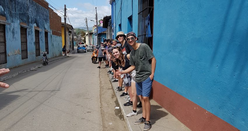 The Mt Doug Band Program in Cuba