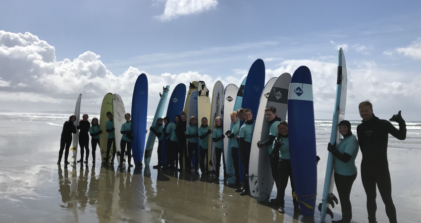 Outdoor Pursuits – Surfing in Tofino