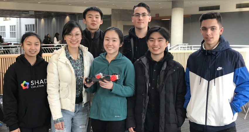 Mount Doug's Senior Science team were top Vancouver Island school at the Kwantlen Science Challenge!